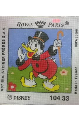 "Tela da ricamo Royal Paris ""Zio Paperone"""