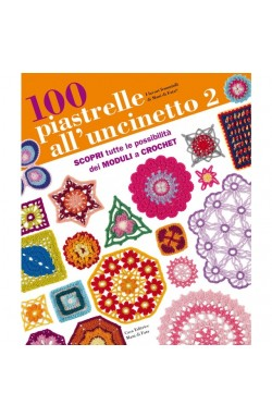 Rivista 100 piastrelle all'Uncinetto 2