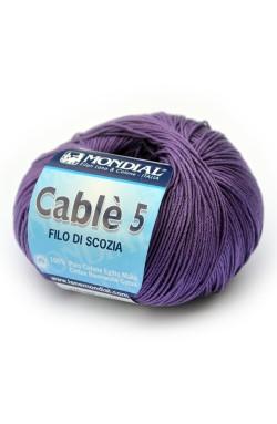 Cotone mako' Cable 5 Mondial