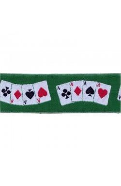 "Nastro decorativo ""carte da gioco"""