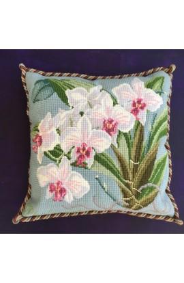 """Cuscino Elizabeth Bradley """" Phalaenopsis orchid"""""""