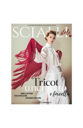 """Rivista Mani di Fata """"Scialli e stole"""" n. 3"""
