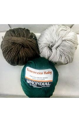 Stock lana Tenerezza baby Mondial