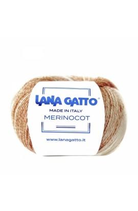 Lana Gatto Merinocot stampato