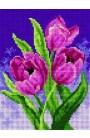 """Quadretto da ricamo Collection """"Tulipani"""""""