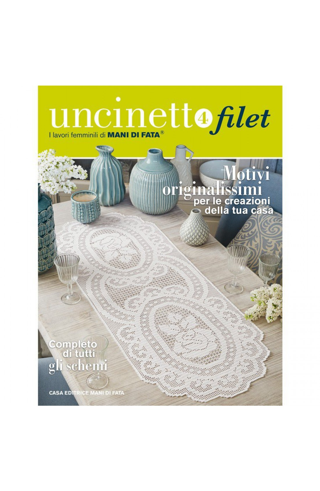 Rivista Uncinetto Filet Mani Di Fata