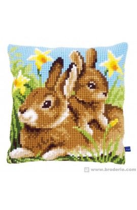 Vervaco cross-stitch cushions