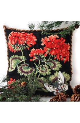 Cushion Elizabeth Bradley Geranium