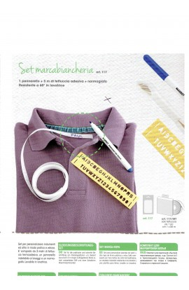 Linen Marking set