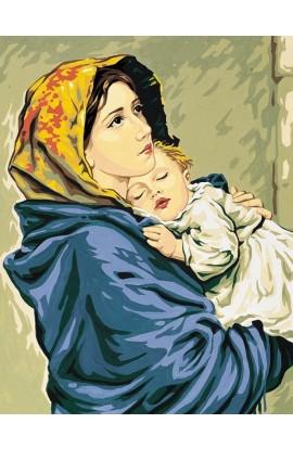 Embroidery Canvas Madonna del Ferruzzi