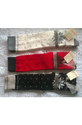 """""""Crystal"""" wool and cashmere women's socks"""