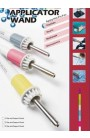 Applicator wand per strass